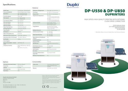 DUPLO DP-U550 WINDOWS 8 DRIVER