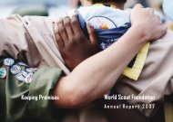 World Scout Foundation Keeping Promises