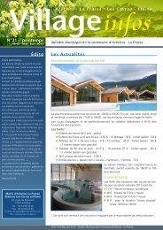 bulletin municipal - printemps 2013 - Commune d'Arâches-La Frasse