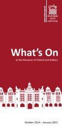 What's On Oct-Jan 2015 Online Version