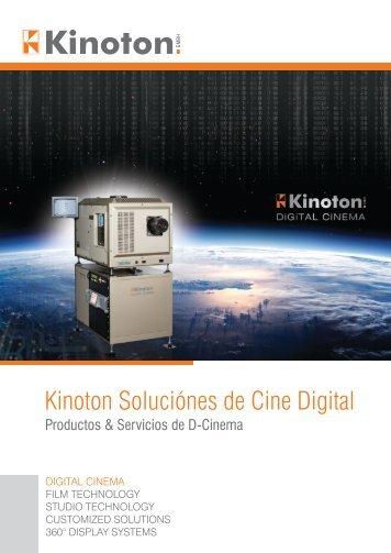 Kinoton Soluciónes de Cine Digital