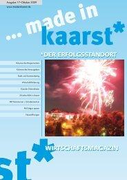 made in Kaarst - WIRTSCHAFTSMAGAZIN