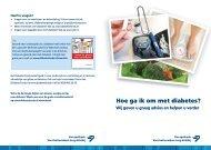 Folder - Hoe ga ik om met diabetes - KNMP