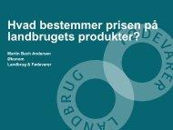 Hvad bestemmer prisen - Danmarks Landboungdom
