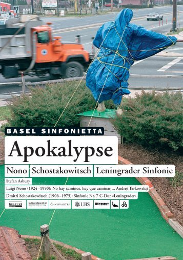 Nono Schostakowitsch Leningrader Sinfonie ... - Basel Sinfonietta