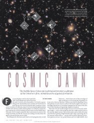 The Hubble Space Telescope is giving astronomers ... - Users' Pages