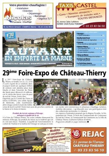 29ème Foire-Expo de Château-Thierry - Autant-actu.com