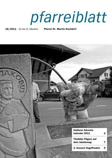 18 2011.pdf - Pfarrei Hochdorf