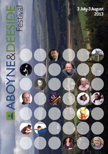 festival brochure - Visit Aberdeen