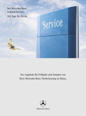 Die Angebote für Frühjahr und Sommer von Ihrer Mercedes-Benz ...