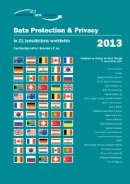 Data Protection & Privacy - Drew & Napier LLC