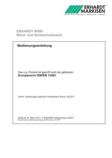 Erhardt Wintergartenbesch