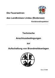 Die Feuerwehren des Landkreises Lindau (Bodensee) Technische ...