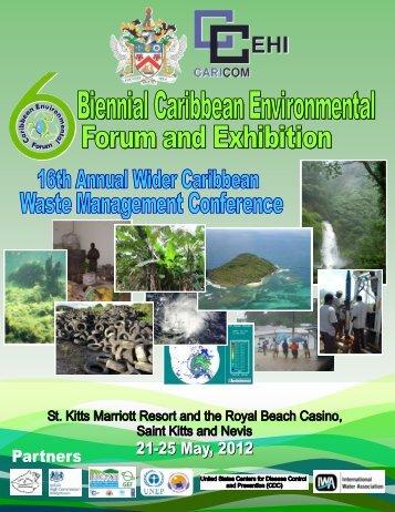 sixth biennial caribbean environmental forum and exhibition