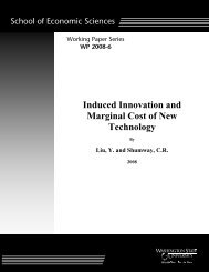 Induced Innovation and Marginal Cost of New ... - ResearchGate