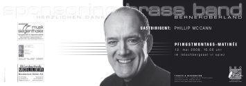 Programm - Höchstklasse Brass Bands der Schweiz