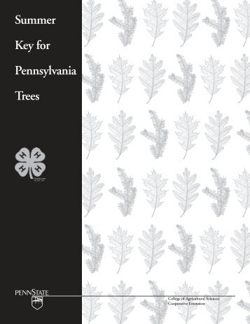 REVISED summer key for pdf - Pennsylvania Department of ...