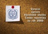 Rok 2009 - Vězeňská služba ČR