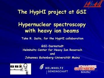 HypHI - Johannes Gutenberg-Universität Mainz