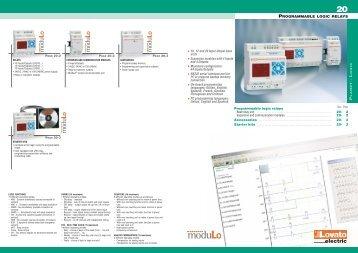 Programmable logic relays - Technika GKM Kft.