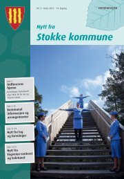April - Stokke kommune