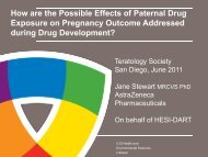 How are the Possible Effects of Paternal Drug Exposure on ...