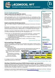 Udgave nr. 1 2011 - Sygehusapoteket - Region Nordjylland