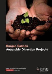 Anaerobic Digestion Projects 11 10 - Burges Salmon