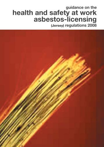Asbestos Safety And Health Specialist Manual University