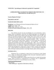 TEMÁTICA: Aprendizagem Colaborativa apoiada Por ... - cinted/ufrgs