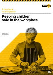 Keeping Children Safe in the Workplace (PDF ... - WorkSafe Victoria
