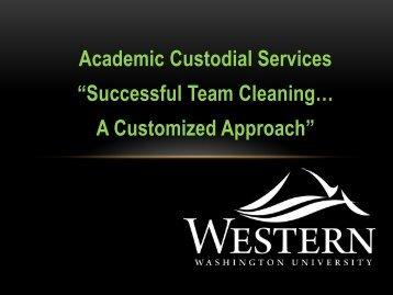 Western Washington University - WSU Conference Management