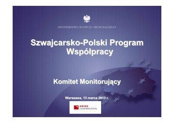 Prezentacja_KMSPPW_13032013 - Ministerstwo Rozwoju ...