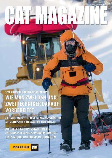 Cat Magazin 1/2013 - Zeppelin Österreich GmbH