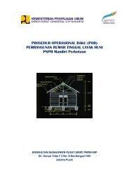 (pob) pembangunan rumah tinggal layak huni - P2KP