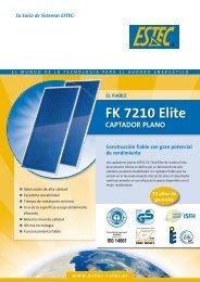 FK 7210 Elite Captador plano - estec-solar.es