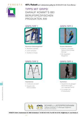 Mast - Hängeleitern - FERESTA GmbH
