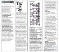 gN Aktor REG 12 V Stromstoß und Relais 4-fach ... - OPUS Schalter