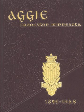 Aggie 1967-1968 - Yearbook - University of Minnesota, Crookston