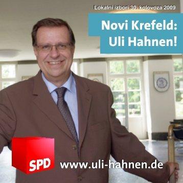 Novi Krefeld: Uli Hahnen! - Hahnen, Uli