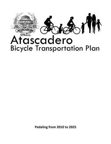 Bike Plan - City of Atascadero