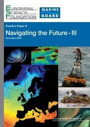 Navigating the Future - III - European Science Foundation