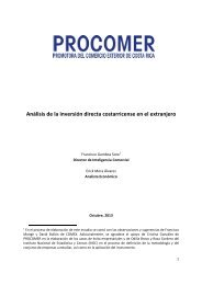 Inversion Costarricense en el Extranjero