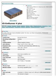 Vision Systems GmbH - VS-EmRunner H plus