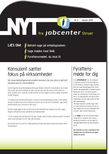NYT fra jobcenterstruer_nr 4 2009 - Struer kommune