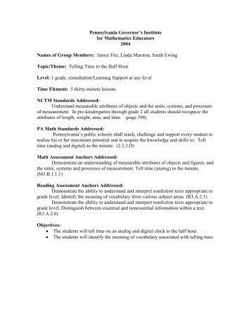 lesson template 12 13