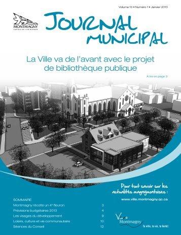 Janvier 2013 - Ville de Montmagny