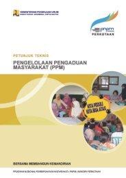 Petunjuk Teknis PPM - P2KP