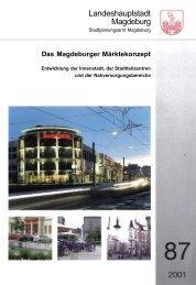 Das Magdeburger Märktekonzept - Landeshauptstadt Magdeburg