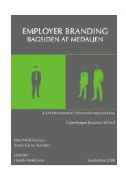 Employer Branding - Bagsiden af medaljen - Kommunikationsforum